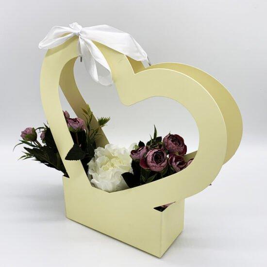 Коробка под цветы К-313 уп.-1шт. - купить в интернет-магазине Viva-Zakolki