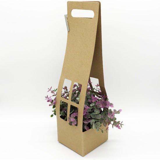 Коробка сборная под цветы К-254а уп.-5шт. - купить в интернет-магазине Viva-Zakolki