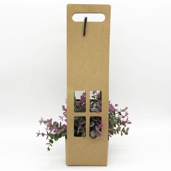 Коробка сборная под цветы К-254а уп.