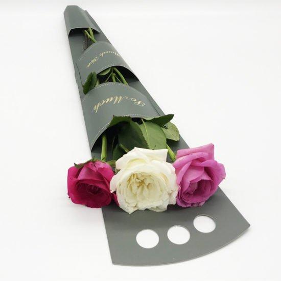 Коробка сборная под цветы К-255а уп.-5шт. - купить в интернет-магазине Viva-Zakolki
