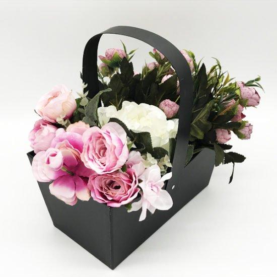 Лукошко под цветы К-338в уп.-1шт. - купить в интернет-магазине Viva-Zakolki