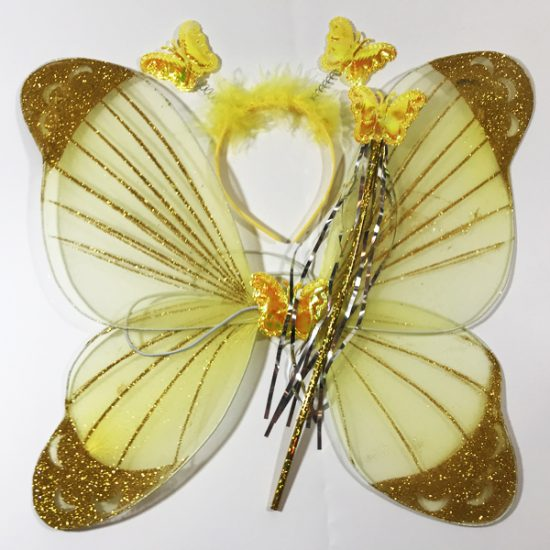 Набор бабочки D-127д уп.-1шт. - купить в интернет-магазине Viva-Zakolki