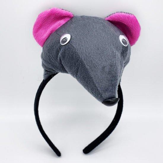 Обруч крыса серая Е-75 уп.-1шт. - купить в интернет-магазине Viva-Zakolki
