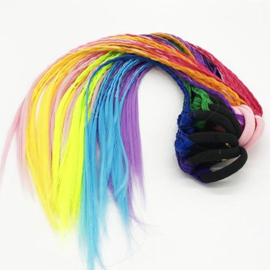 Пряди для волос Е-42 уп.-12шт. - купить в интернет-магазине Viva-Zakolki