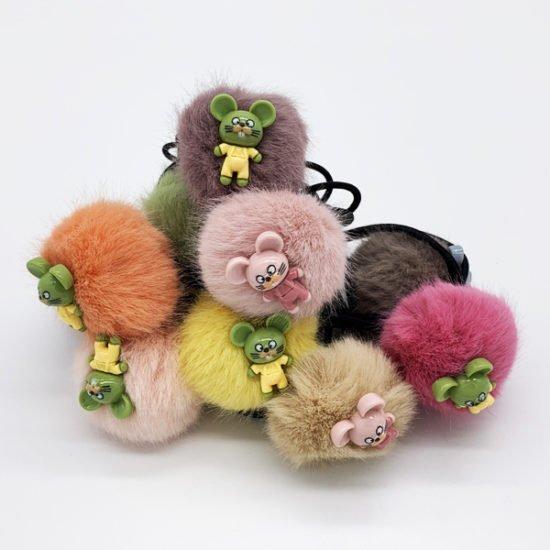 Резинка мех мышка М-038 уп.-10шт. - купить в интернет-магазине Viva-Zakolki