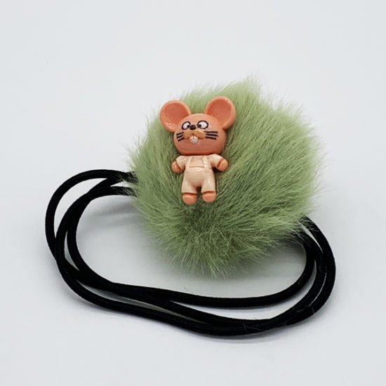 Резинка мех мышка М-038 уп.-10шт.
