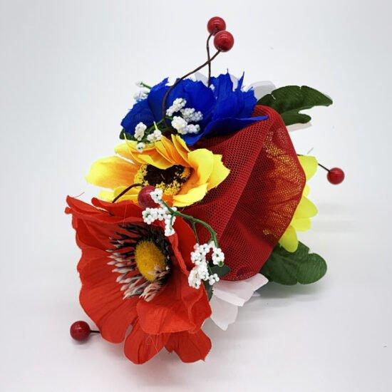 Сетка цветы С-0010 уп.