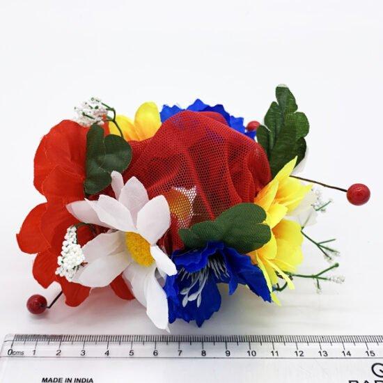 Сетка цветы С-0010.