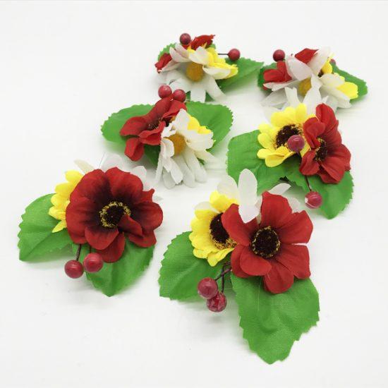 Утка цветы D-94е уп.-6шт. - купить в интернет-магазине Viva-Zakolki