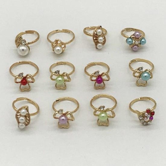 Детские кольца В-1338 уп.-12 шт. - купить в интернет-магазине Viva-Zakolki