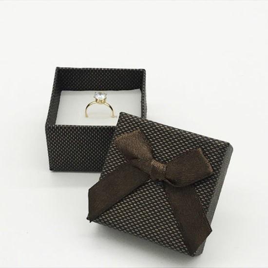 Коробка под кольцо К-162а уп.-6шт. - купить в интернет-магазине Viva-Zakolki