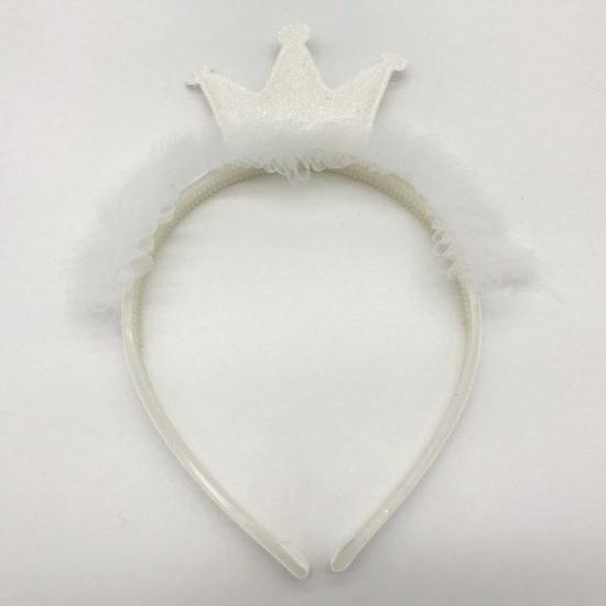 Ободок корона В-2046 уп.-12 шт. - купить в интернет-магазине Viva-Zakolki