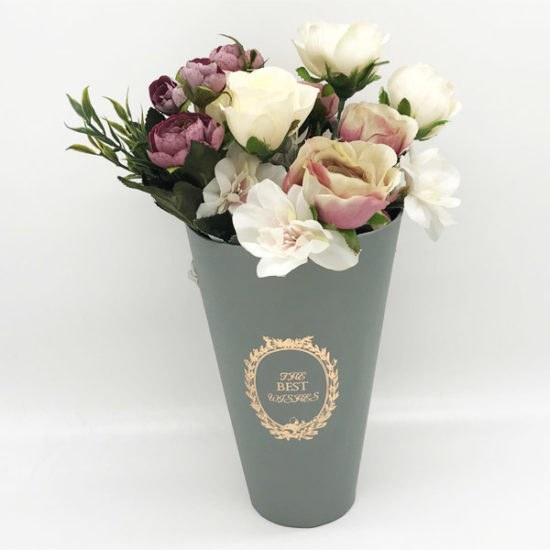 Коробки под цветы В-146б уп.-1шт. - купить в интернет-магазине Viva-Zakolki