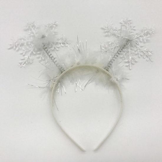 Обруч снежинка В-2034 уп.-6 шт. - купить в интернет-магазине Viva-Zakolki