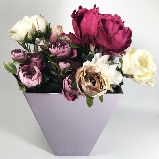 Коробки под цветы В-136д уп. — 1 шт. - купить в интернет-магазине Viva-Zakolki