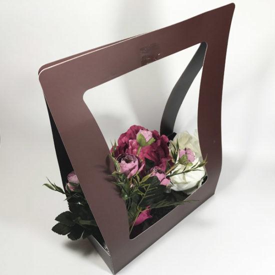Коробки под цветы К-276 уп. — 1 шт. - купить в интернет-магазине Viva-Zakolki